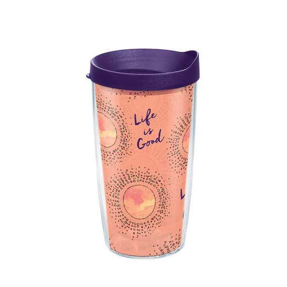 Sun Pattern Tervis Tumbler with Lid, 16oz
