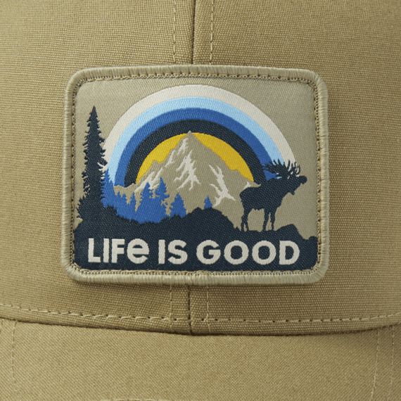 Sunbow Moose Hard Mesh Back Cap