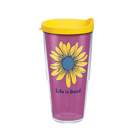 Sunflower Tervis Tumbler with Lid, 24oz