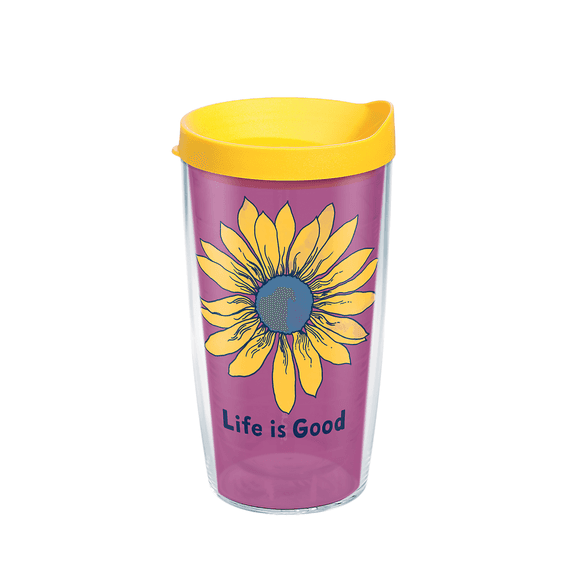 Sunflower Tervis Tumbler with Lid, 16oz