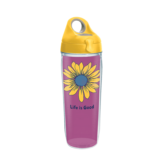 Sunflower Tervis Water Bottle with Lid