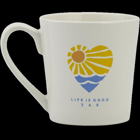 Sunray Heart Everyday Mug
