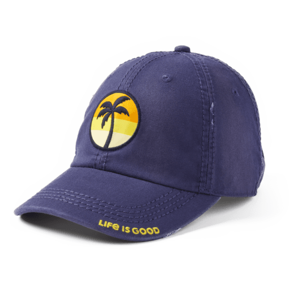 Sunset Palm Sunwashed Chill Cap