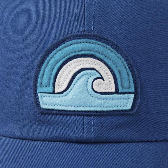 Sunset Wave Soft Mesh Back Cap