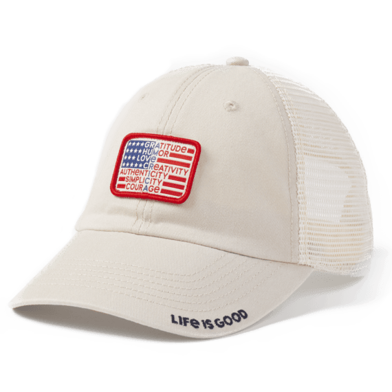 Superpower Flag Soft Mesh Back Cap