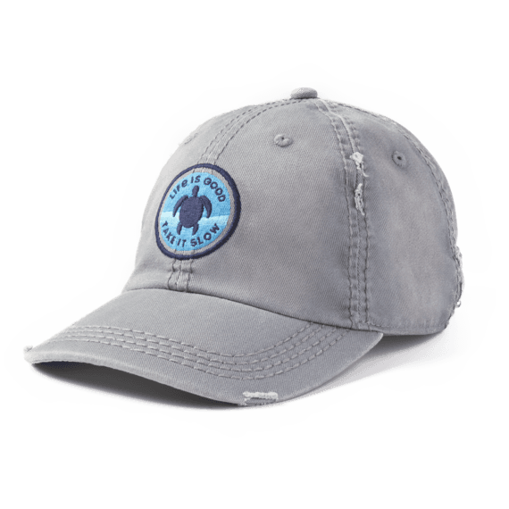 0f0d3472 Hats Take It Slow Turtle Sunwashed Chill Cap | Life is Good ...