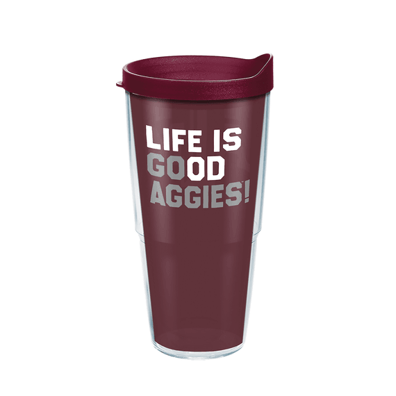 Accessories Texas Am Go Team Tervis Tumbler With Lid 24oz Life