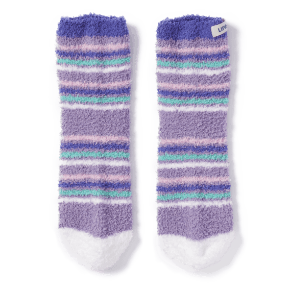 Thin Stripe Snuggle Socks