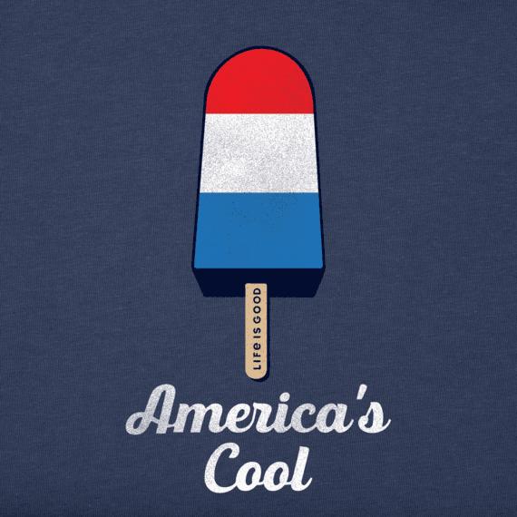 Toddler Americana Popsicle Crusher Tee