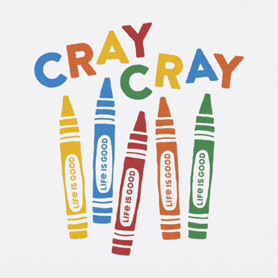 Toddler Cray Cray Crusher Tee