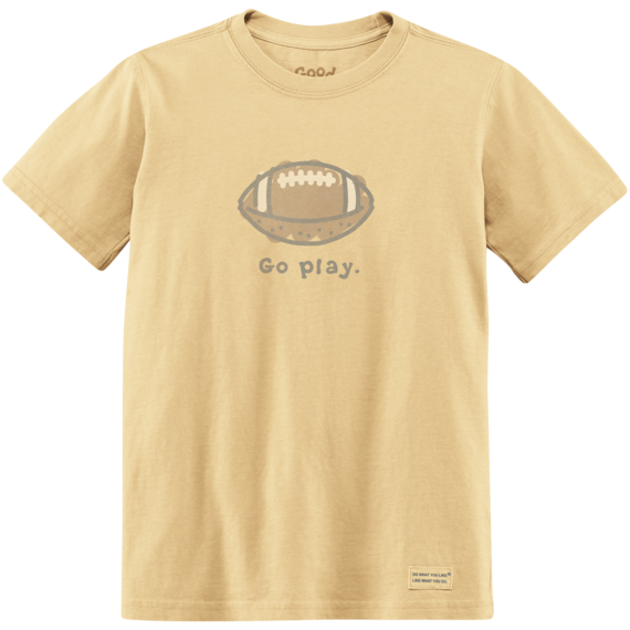 Toddler Go Play Football Crusher Tee