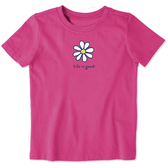 Toddler Daisy Vintage Crusher Tee