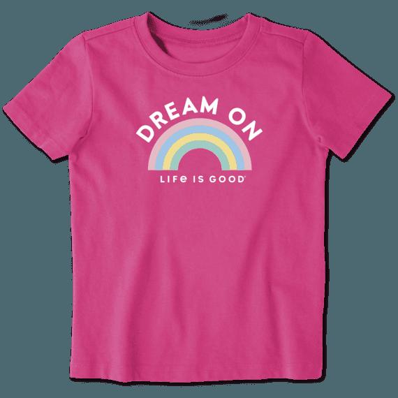 Toddler Dream On Rainbow Crusher Tee