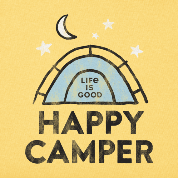 Toddler Happy Camper Crusher Tee