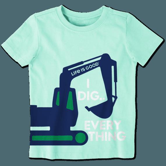 Toddler I Dig Everything Crusher Tee