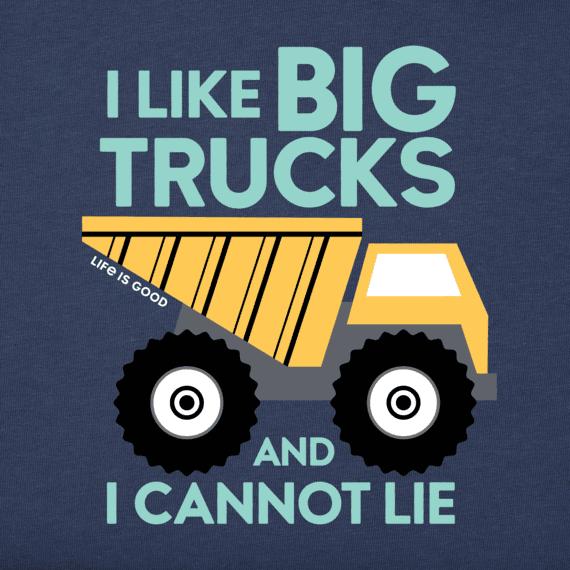 Toddler I Like Big Trucks Crusher Tee