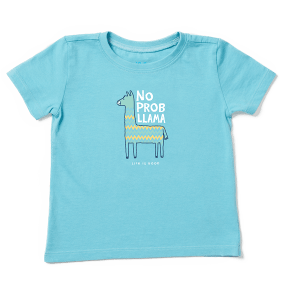Toddler No Prob Llama Crusher Tee