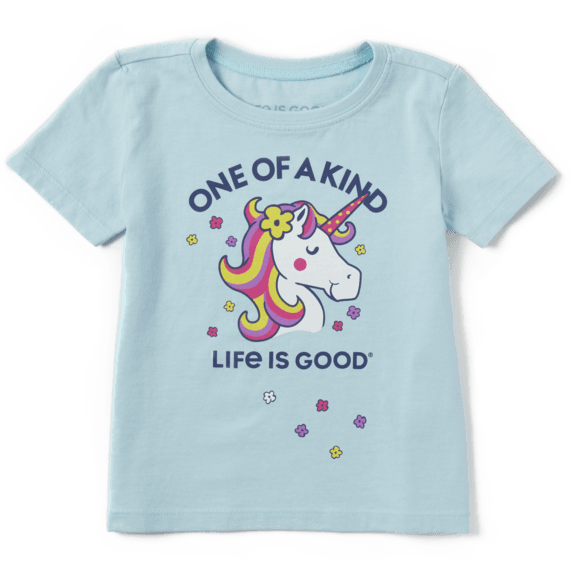 Toddler One of a Kind Unicorn Crusher Tee