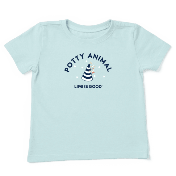 Toddler Potty Animal Crusher Tee