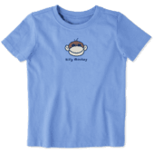 Toddler Silly Monkey Vintage Crusher Tee