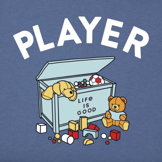 Toddler LIG Player Long Sleeve Crusher Tee