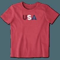 Toddler USA LIG Crusher Tee