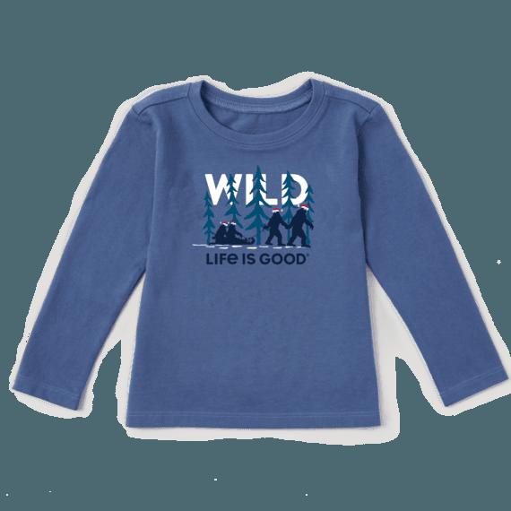 Toddler Wild Family Long Sleeve Crusher Tee