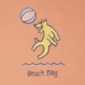 Toddlers Beach Day Crusher Tee Crew