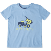 Toddlers Get Dirty Crusher Tee Crew
