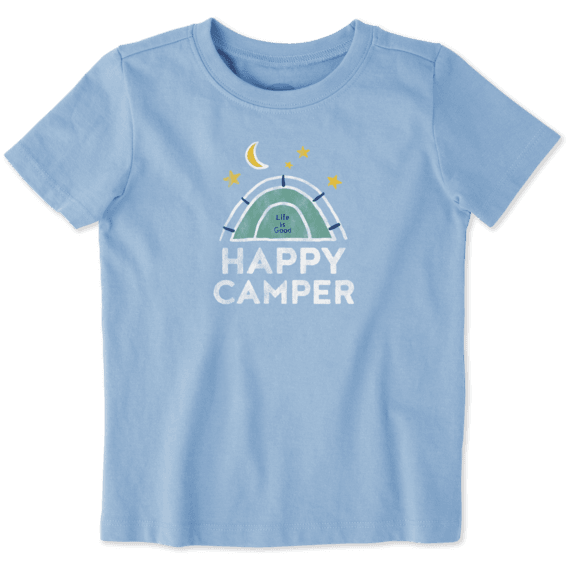 Toddlers Happy Camper Crusher Tee