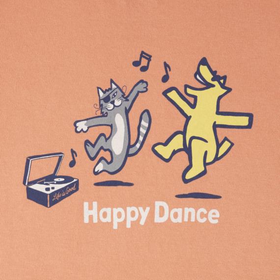Toddlers Happy Dance Crusher Tee Crew