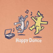 Toddlers Happy Dance Crusher Tee Crew