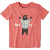 Toddlers Hug Grrr Crusher Tee