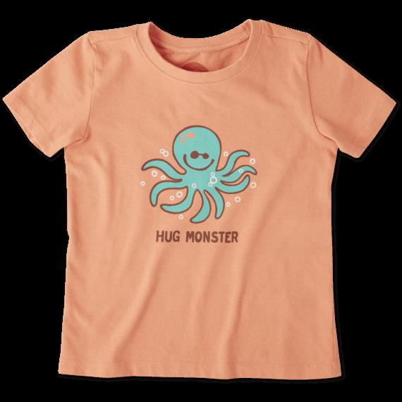 Toddlers Hug Monster Crusher Tee Crew