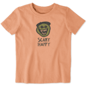 Toddlers Scary Happy Crusher Tee