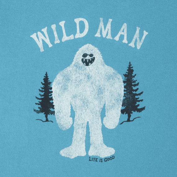 Toddlers Wild Man Long Sleeve Crusher Tee