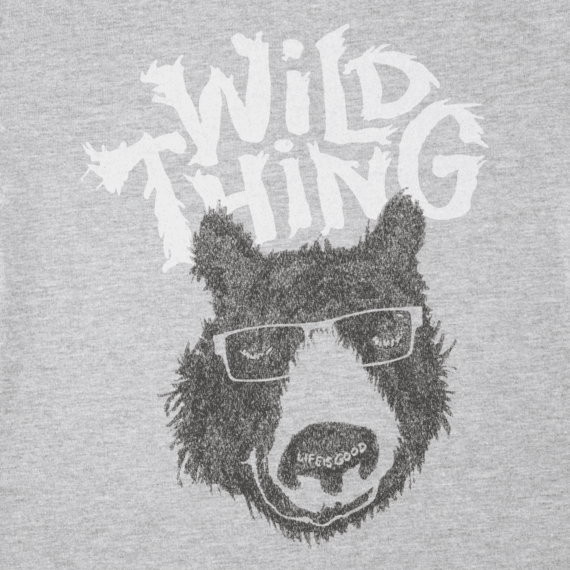Toddlers Wild Thing Bear Crusher Tee