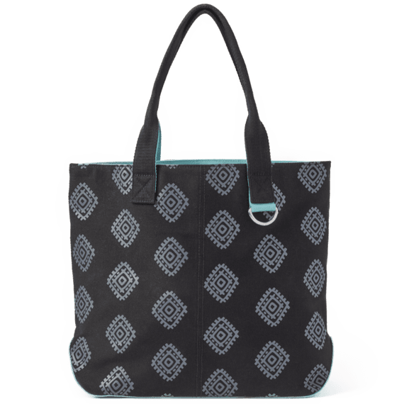 Tribal Diamond Pattern Wayfarer Tote
