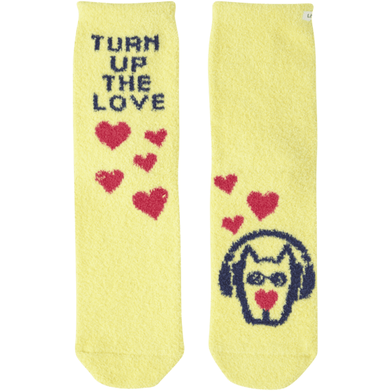 Turn Up The Love Snuggle Socks