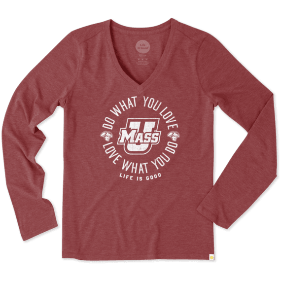 Women's UMass Do What You Love Long Sleeve Cool Vee