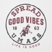Men's UMass Good Vibes Long Sleeve Cool Tee