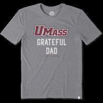 Men's UMass Grateful Dad Cool Tee