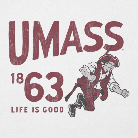 Men's UMass Life is Good Cool Tee