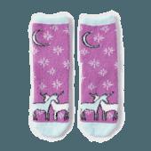 Unicorn Magic Plush Snuggle Socks