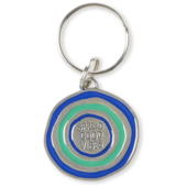 Vibin' Ripples Keeper Keyring