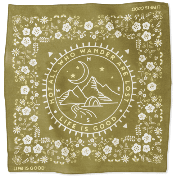 Wander Mountains Bandana