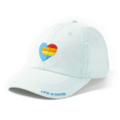 Wave Heart Sunwashed Chill Cap