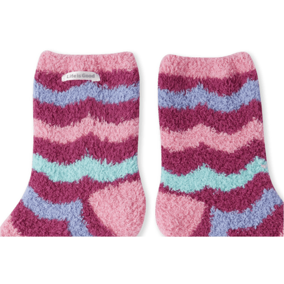 Wave Pattern Snuggle Socks