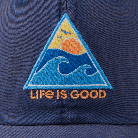 Waves of Life Sunwashed Chill Cap
