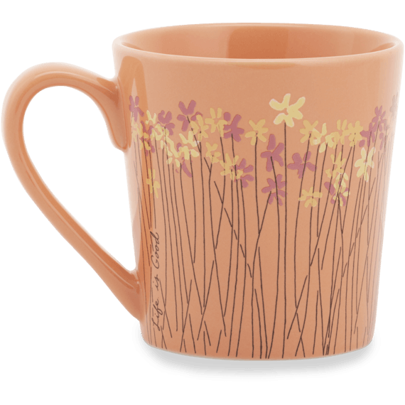 Wild Flower Bunches Everyday Mug